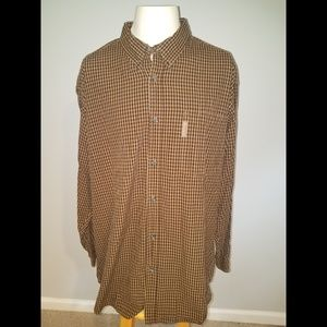 Columbia 2XL L/S Button Front Collared Shirt